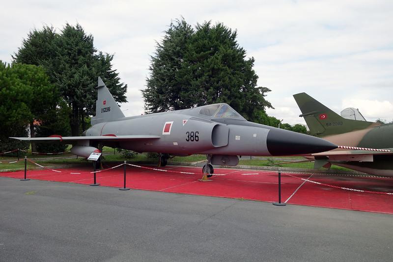 55-3386 (386) Convair F-102A Delta Dagger c/n 8-10-95 Istanbul-Ataturk/LTBA/IST 09-10-18