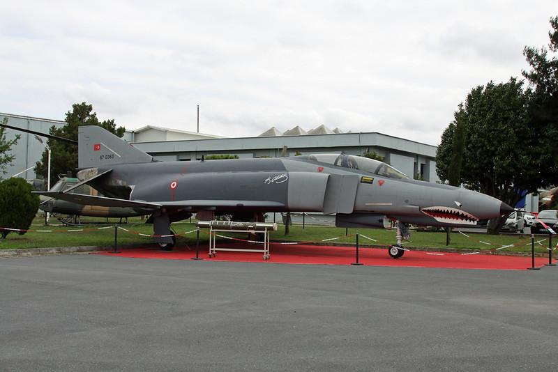 67-0360 McDonnell-Douglas F-4E Phantom II c/n 3234 Istanbul-Ataturk/LTBA/IST 09-10-18