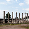 The columns of the West Stoa.