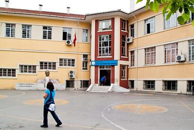 19 April 2010 - Around Alsancak Gazi İlk Okulu - this is where I attended grades 1-5.