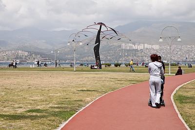 20 April 2010 - Around Alsancak The Kordon Promenade near Cumhuriyet Meydanı (Republic Square).