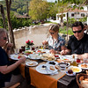 18 April 2010 - Day Trip to Efes<br /> Breakfast in Şirince - talk about a feast!