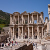 18 April 2010 - Day Trip to Efes<br /> Celsus Library - with an inventory of over 12,000 scrolls, it was the third richest library of antiquity after Alexandria and Pergamum.