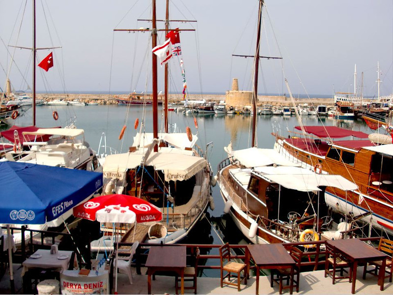 girne harbor north cyprus