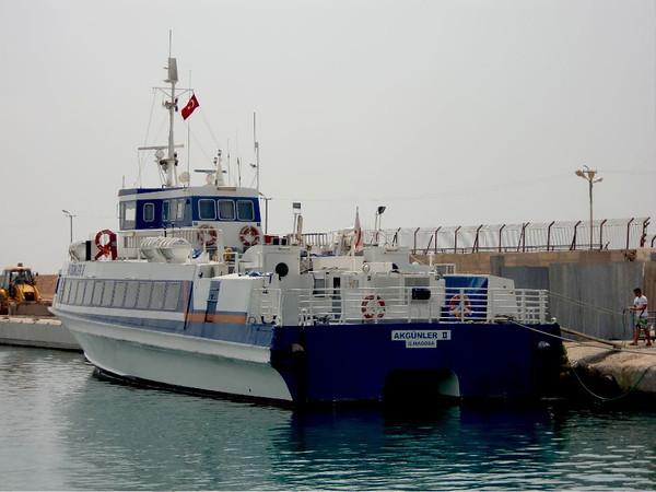 tasucu ferry north cyprus