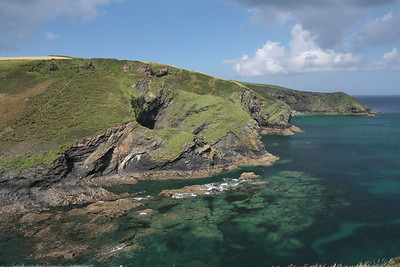 Coastline near Port Isaac