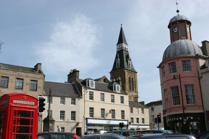 Town centre, Cupar Scotland