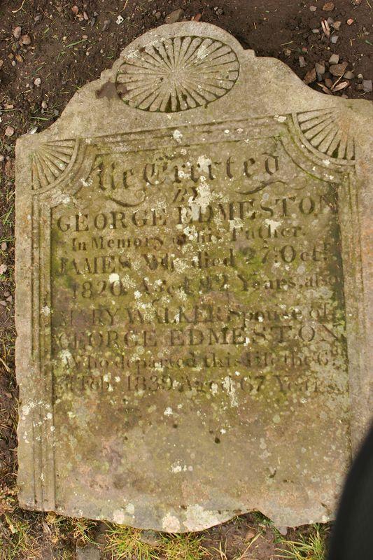 Cemetery in Cupar, Scotland