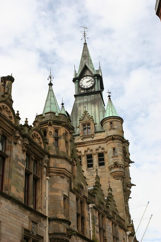 Clock tower, Dunfermline Scotland