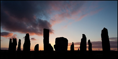 Callanish Stones at sunrise