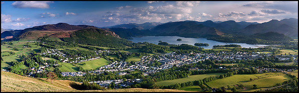 Panorama from Latrigg