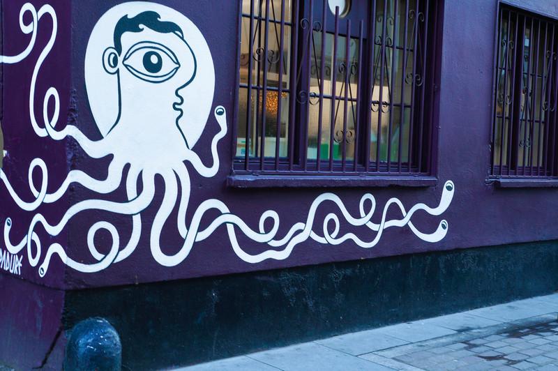 Street art by Padure in London, UK
