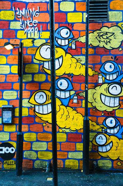 London Street art by Pez
