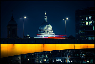 St Paul's over London Bridge