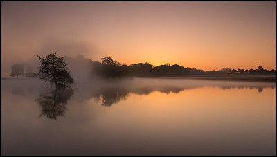 Sunrise at Pen Ponds