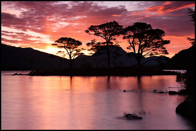 Loch Maree at sunrise