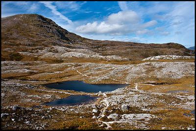 On Beinn Eighe Mountain Trail