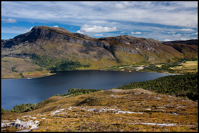 Loch Maree from Beinn Eighe