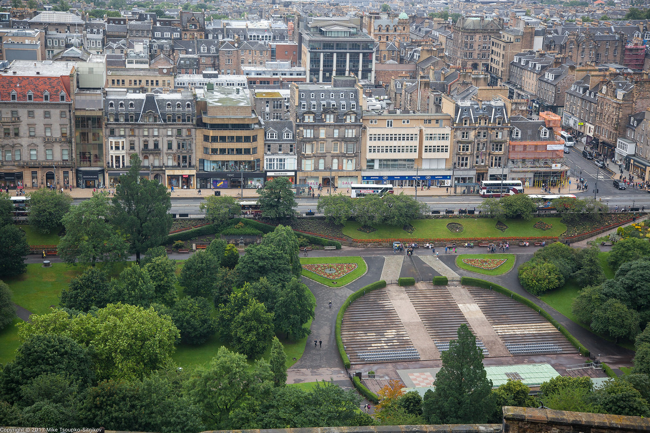 A View from the Edinburgh Castle