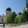 Odessa - Cathedral of the Transfiguration. Was demolished by the communists and only recently rebu9lt.