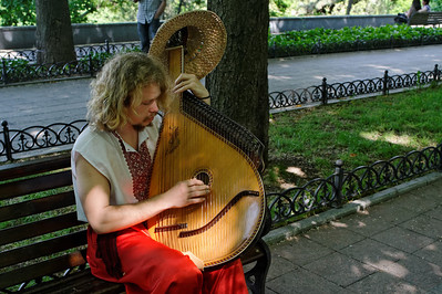 Odessa - Musician, Primorsky Blvd.