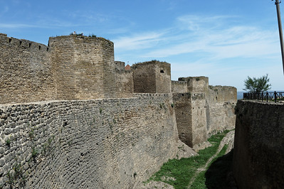 "Akkerman Fortress - This fortress, ""white fortress"" at the western shore of the Dnister River was built by Moldovian Princes in the 13th century.  and had originally 35 towers, each with its own name.."