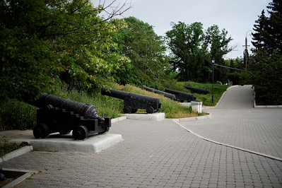 Sevastopol - Malakoff Hill with 1853 cannons