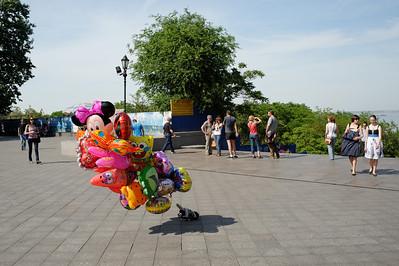 Odessa - Primorsky Blvd at Potemkin stairs.