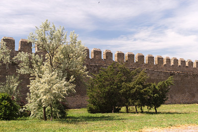 Akkerman - First Court. This area consists of about 22 acres surrounded by a wall. Was used during war to shelter the population of the adjacent town.