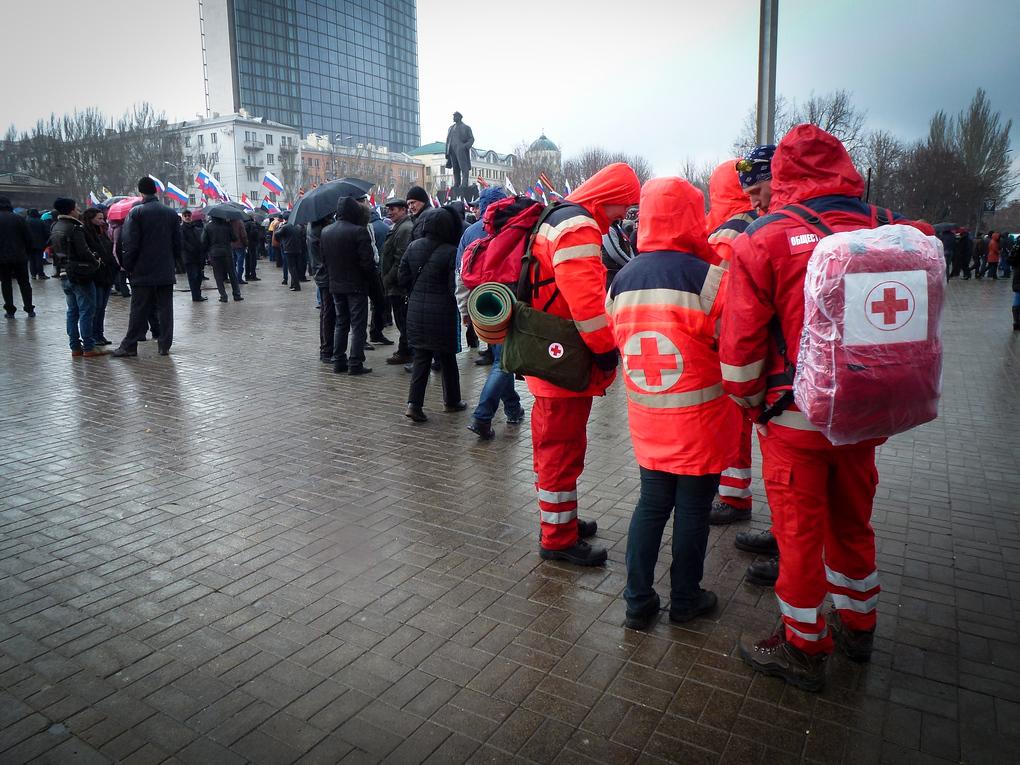 donetsk ukraine medical staff