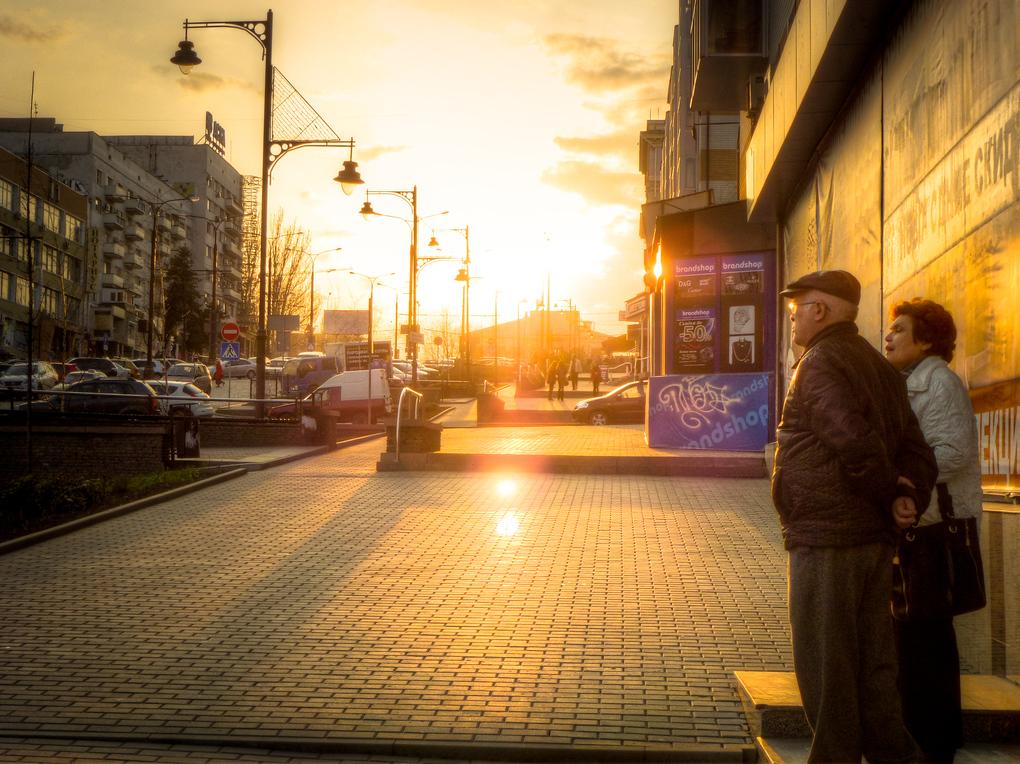 donetsk ukraine sunset