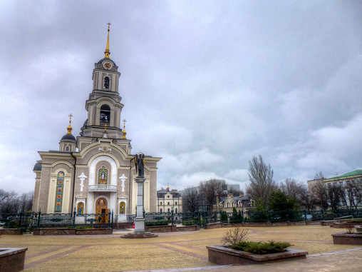 donetsk holy transfiguration church