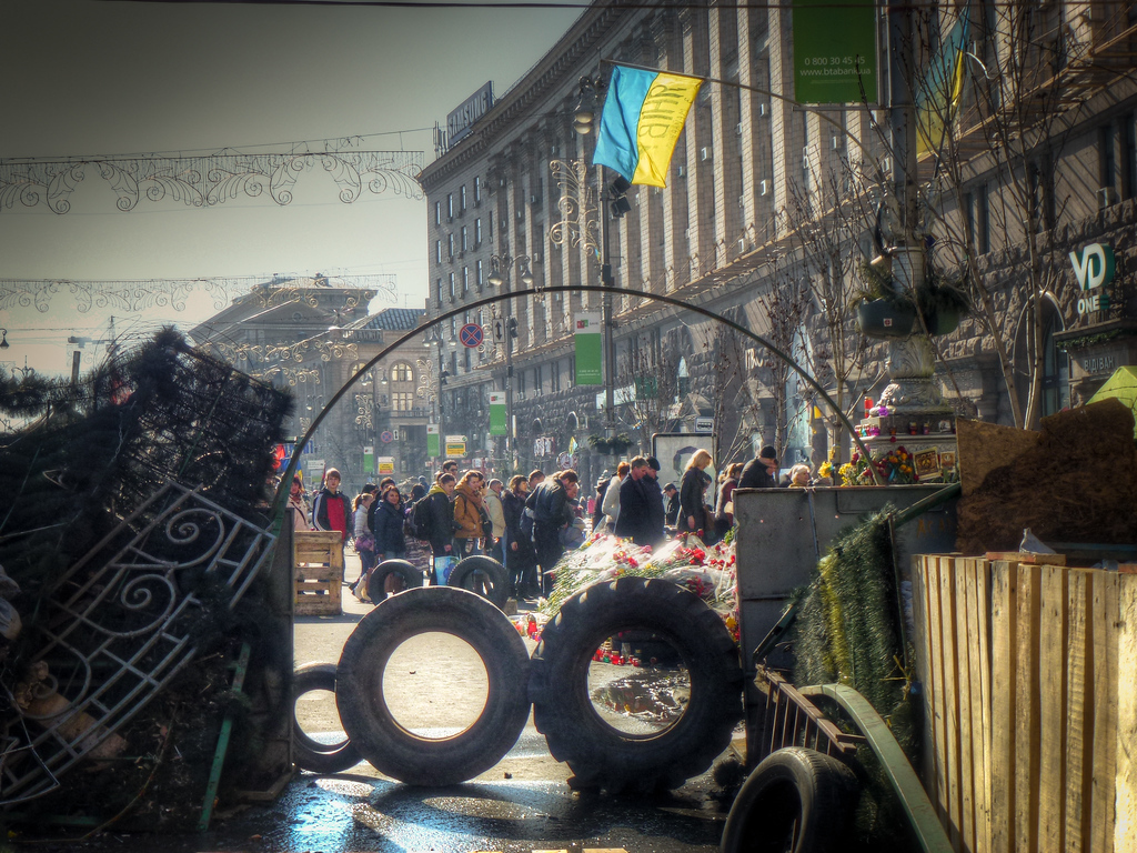 kiev maidan atmosphere