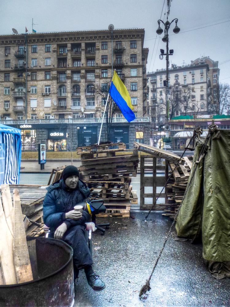 kiev maidan protestor ukraine
