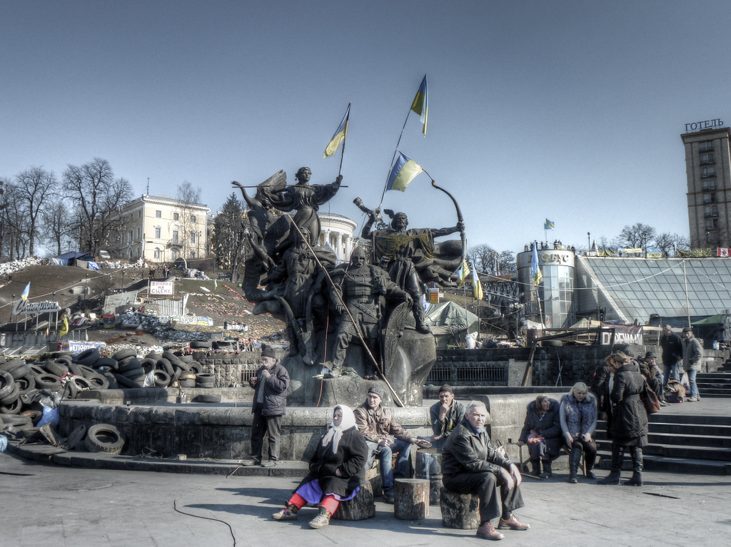 maidan black and white