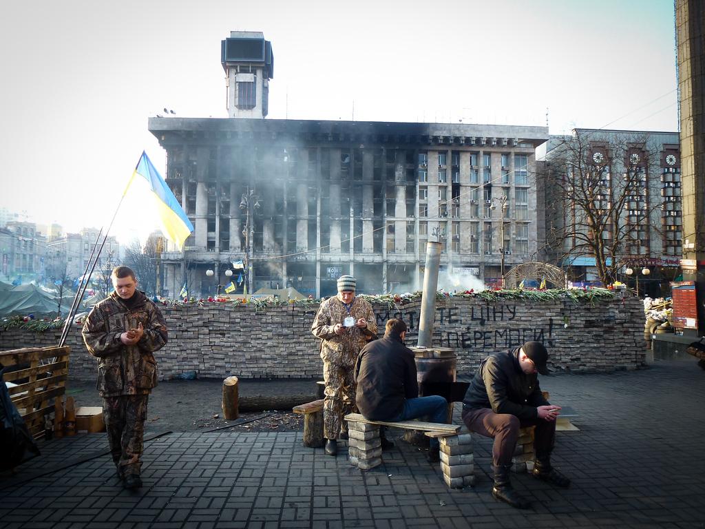 kiev maidan soldiers militia