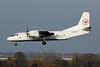 "UR-CSJ Antonov An-26B ""Eleron Aviation"" c/n 96-08 Liege/EBLG/LGG 14-11-20"
