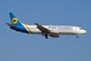 UR-GAM Boeing 737-4Y0 c/n 25190 Barcelona/LEBL/BCN 28-06-08