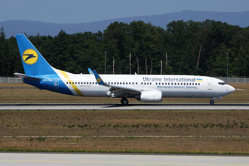 """UR-PSB Boeing 737-8HX """"Ukraine International Airlines"""" c/n 29654 Frankfurt/EDDF/FRA 04-06-15"""