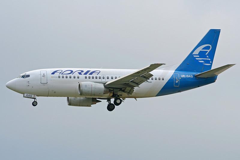 """UR-GAS Boeing 737-528 c/n 25236 Frankfurt/EDDF/FRA 11-07-07 """"ADR c/s"""""""