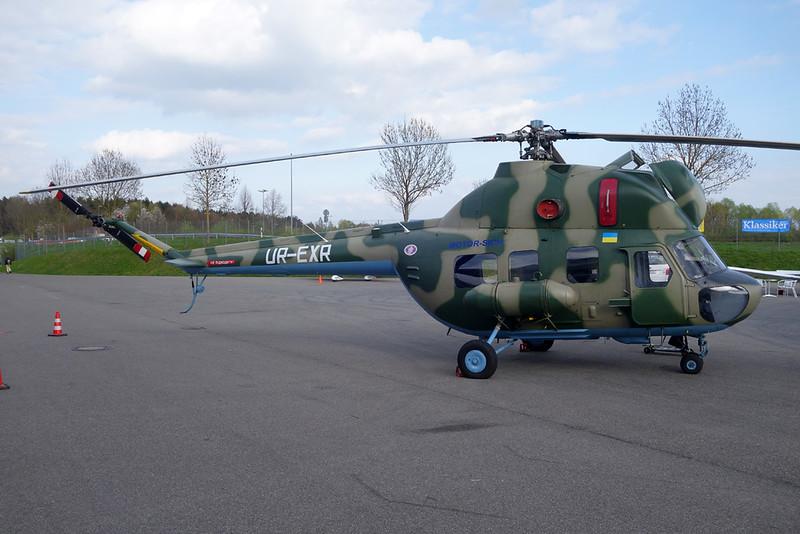 UR-EXR Mil Mi-2 c/n 544438105 Friedrichshafen/EDNY/FDH 06-04-17