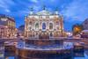 The Opera House, Lviv, Ukraine.