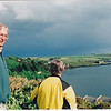 Ken Gibson, Bruce Roberts overlooking Kinsale Harbour