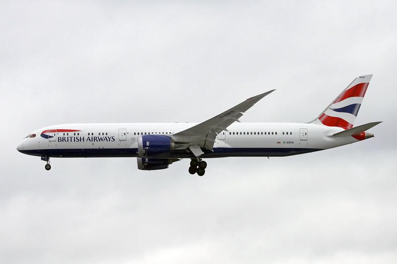 G-ZBKB Boeing 787-9 c/n 38617 Heathrow/EGLL/LHR 08-07-16