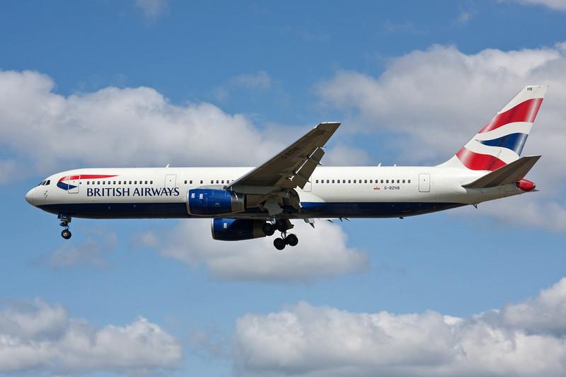 G-BZHB Boeing 767-336ER c/n 29231 Heathrow/EGLL/LHR 18-07-09