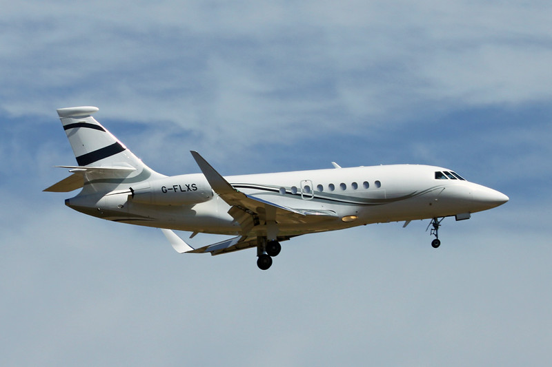 G-FLXS Dassault Falcon 2000LX c/n 275 Palma/LEPA/PMI 15-06-16