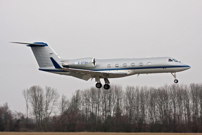 G-CFOH Gulfstream Aerospace Gulfstream IV c/n 1202 Maastricht-Aachen/EHBK/MST 11-03-10