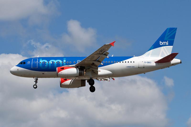 G-DBCI Airbus A319-131 c/n 2720 Heathrow/EGLL/LHR 18-07-09