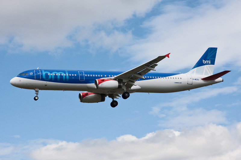 G-MEDU Airbus A321-231 c/n 3926 Heathrow/EGLL/LHR 18-07-09