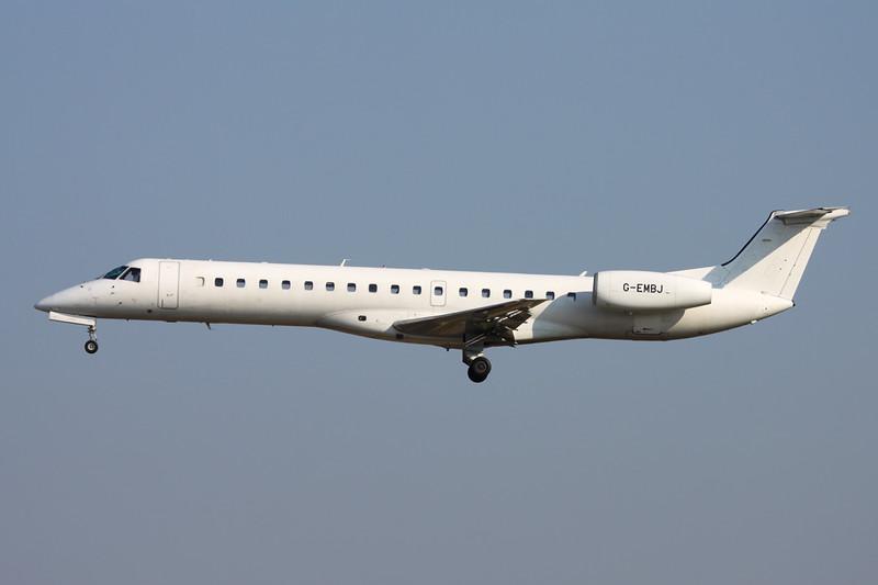 G-EMBJ Embraer ERJ-145EP c/n 145134 Brussels/EBBR/BRU 17-03-16